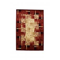 Ковровая дорожка super elmas 5131c ivory-d.red