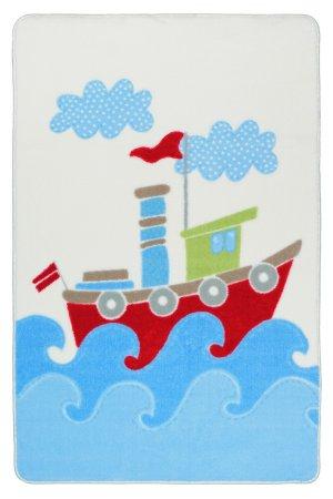 Ковер baby ship blue