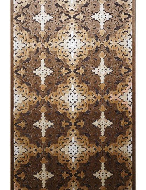 Ковровая дорожка toskana-j 2895p brown